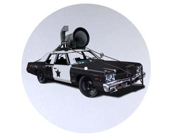 The Blues Brothers: The Blues Mobile Slipmat