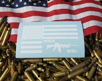 American Flag Infidel