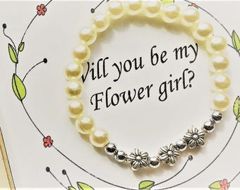 Weddings/Boxed Flower Girl/Gifts and Mementos?Bridesmaids Gifts/Ask Flower Girl/Silver flowers
