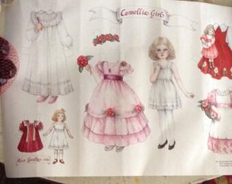 """Camellia 7"""" Paperdoll"""