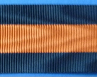 Belgium Medal Ribbon For The Yser Campain Medal Of 1914