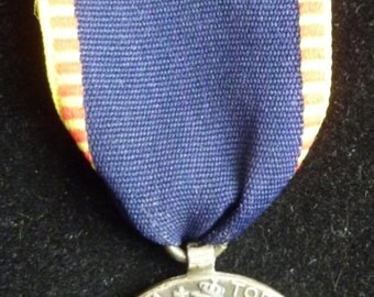 Roumanian Silver Campaign Medal of The Balkan War of 1913. A Very Scarce Medal.