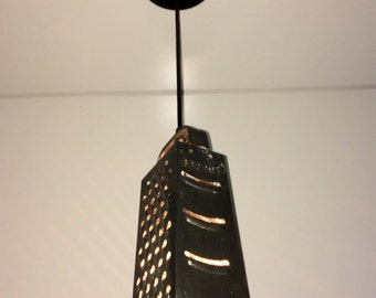 Vintage Grater Pendant Light