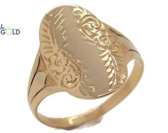 unique gold ring etsy