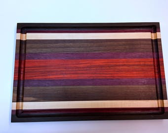 Exotic Wood cutting board