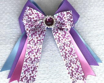 SHORTY - Horse show bows/ Unicorn Hair Accessory/Beautiful Gift