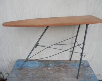 Cute Vintage Wooden Toy Ironing Board!