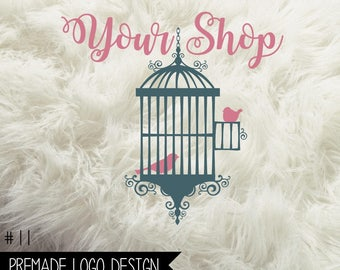 11.  Premade Business  Logo Digital File 300dpi PNG file, personalized with your shop name