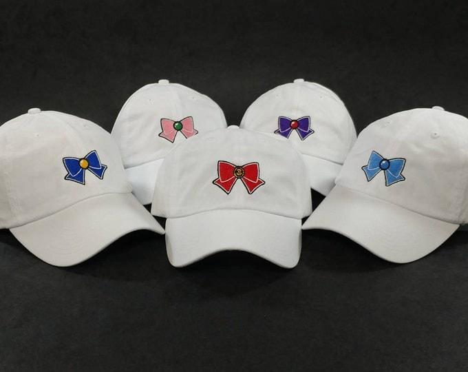 Featured listing image: Sailor Scouts Cap Set