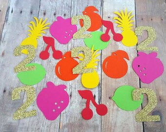 300 Two-tti Fruity Birthday Party Decorations, Two-tti Frutti Party Decorations, Tutti Frutti Party, Tutti Frutti Birthday, Two-tti Birthday