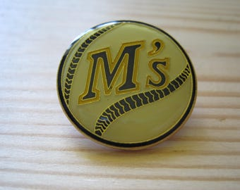 Vintage Seattle Mariners Collectable MLB Licensed Lapel/ Hat Pin
