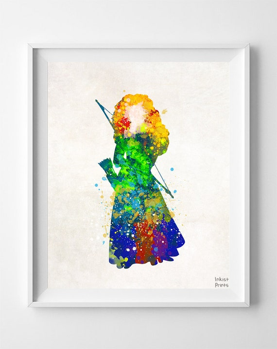 brave watercolor by bezawesome - photo #13