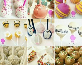 Cake Pop Decoration Starter Kit x