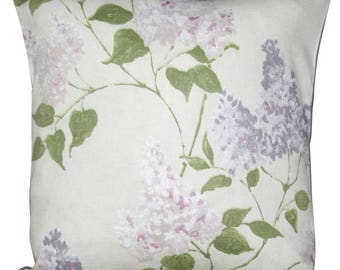 Sanderson Lilacs Floral Cushion Cover