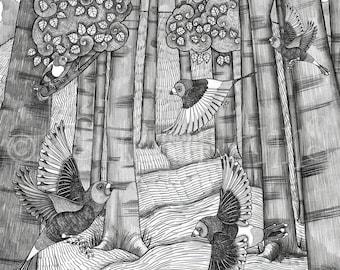Forest - Art print