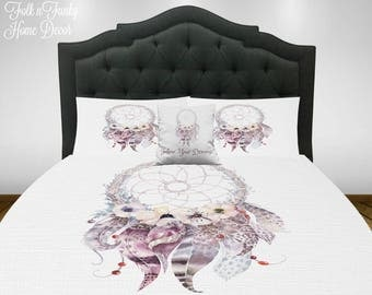 Dream Catcher Bedding, Duvet Cover Set 0r Comforter , Twin Queen Full King