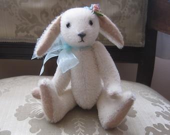 White Mohair Rabbit