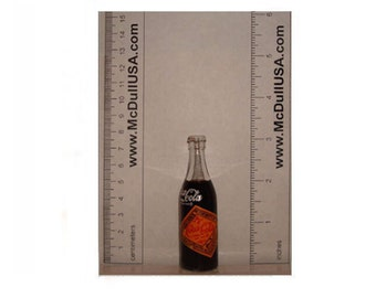 Coke Coca-Cola Mini Miniature Bottle Year 1899 model (Year 1989)