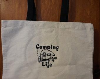 Camping Life-Camper-Tote Bag