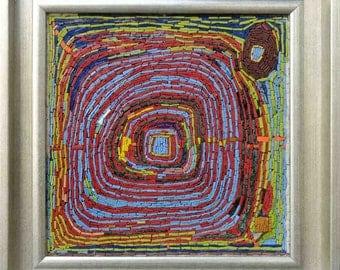 Spiral - Abstract Mosaic