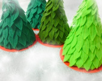 Green Christmas tree, Felt Christmas Tree, Christmas Tree decoration