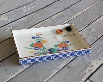 Chrysanthemum Ceramic Small Tray