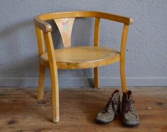 chaise pot vintage etsy. Black Bedroom Furniture Sets. Home Design Ideas
