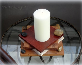 Earth Elements Candle Holder
