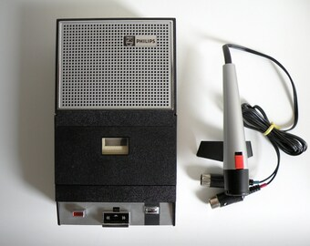 Philips portable cassette recorder - Vintage