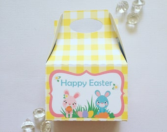 Easter bunnies treat boxes