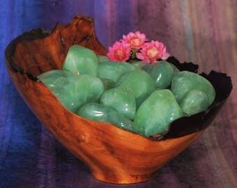 1 PREHNITE Tumbled Stone - Prehnite Crystal, Prehnite Stone, Tumbled Prehnite, Prehnite Gemstone, Prehnite Tumblestone