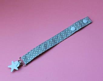 Fabric Pacifier clips - Chupeteros de tela