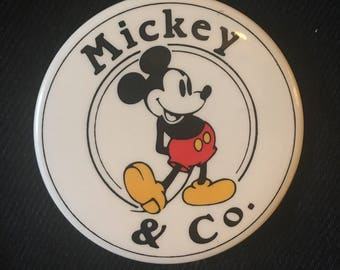 Disney Mickey Mouse button pin