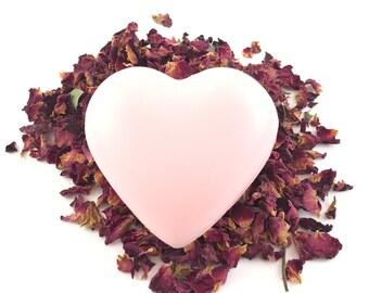 Rose Heart Soap