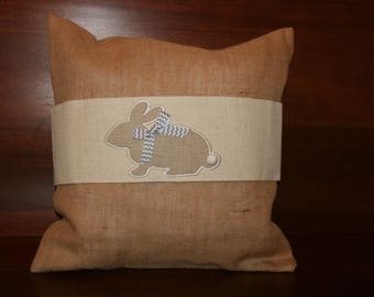 Applique Bunny Pillow Wrap