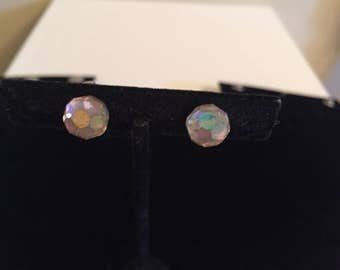 Lovely crystal ball earrings