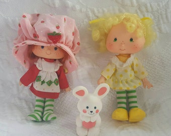 Vintage STRAWBERRY SHORTCAKE and Friends