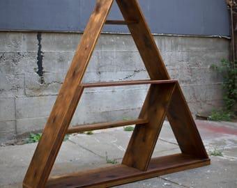 Custom Pyramid Shelving