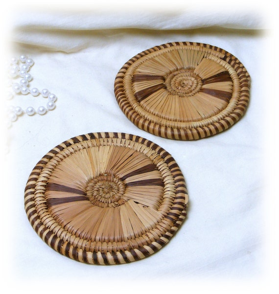 Two Really Pretty and Thick TRIVETS