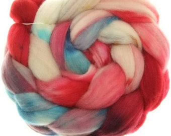 Merino Nylon No. 63  handyed combed top roving for spinning #16769