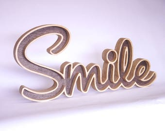 Smile sign