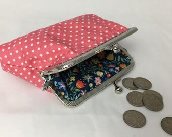 Make your own purse kit ~ DIY ~ Learn to sew ~ Vintage style ~ Choose fabric & clasp ~ Creative gift idea ~ Crafting x
