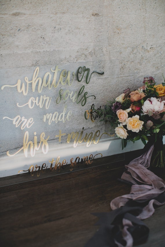Custom Acrylic Sign | Acrylic Welcome Wedding Sign | Acrylic Wedding Decor