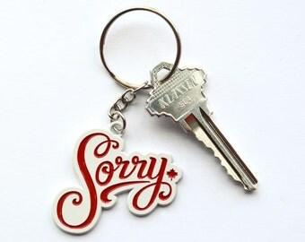 Sorry Keychain