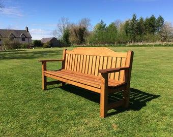 5ft Garden bench / memorial bench