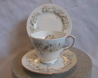 Reduced Cup, Saucer, Plate Duchess Bone China Trio Set
