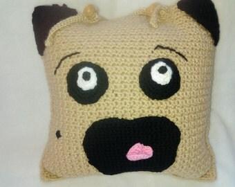 Louie the Pug Pillow
