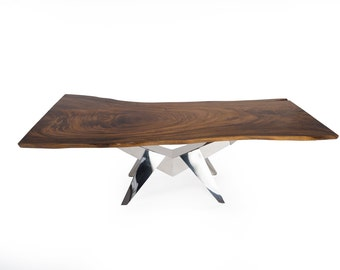 Live Edge Dining Table 8 ft (SKU 1602-14DN)