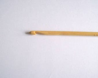 5.5mm crochet hook crochet needle crochet hook wooden 5.5mm hook