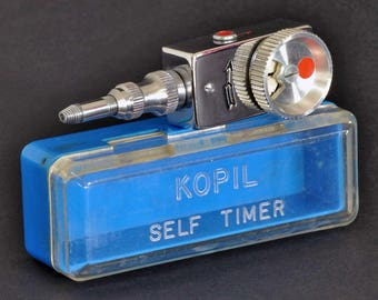 Kopil Self Timer In Original Case MiNTY ! Vintage Collectible